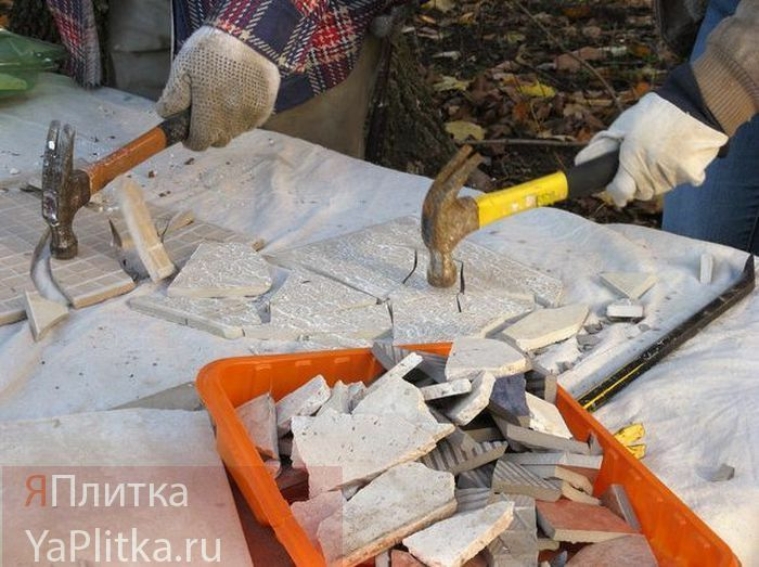 керамическая мозаика своими руками