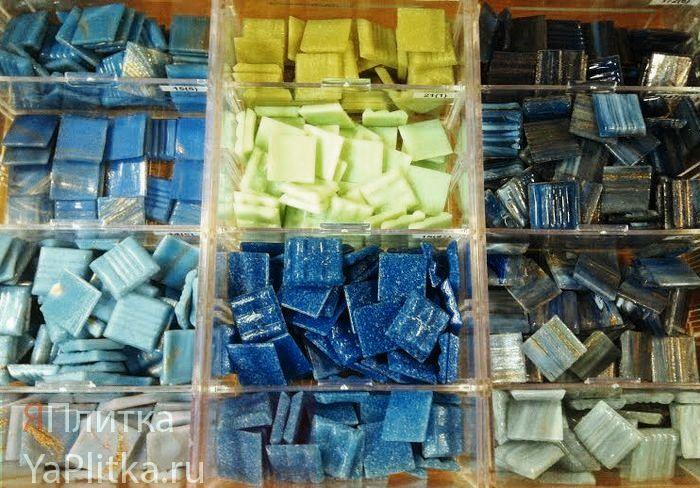 мозаика стеклянная на сетке