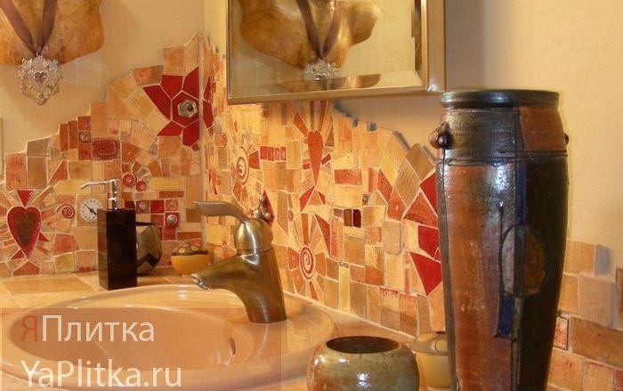 крупная мозаика для ванной