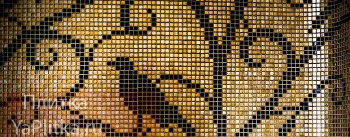 панно из мозаики