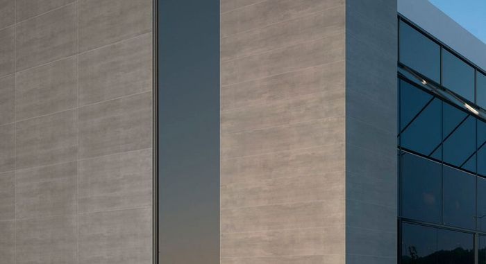 керамогранит для фасада размеры