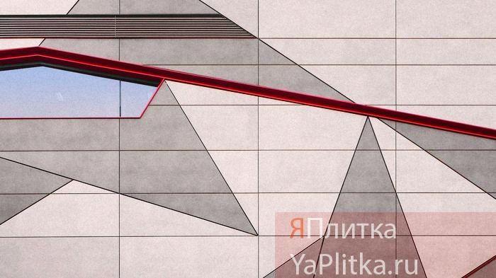 облицовка фасада керамогранитом технология