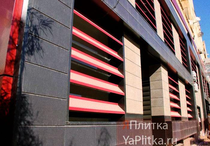 технология вентилируемого фасада из керамогранита