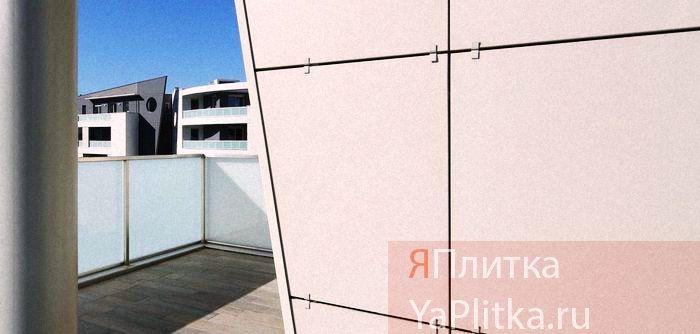 толщина керамогранита для фасада