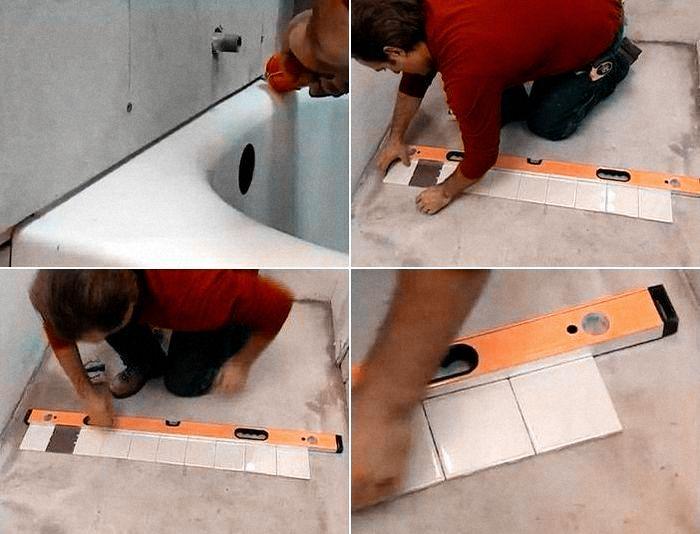 углы при укладке керамической плиткой