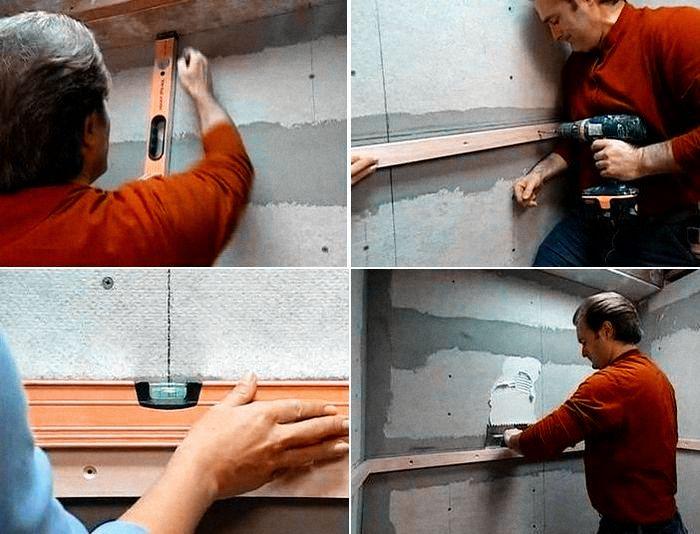 укладка керамической плитки на лестницу