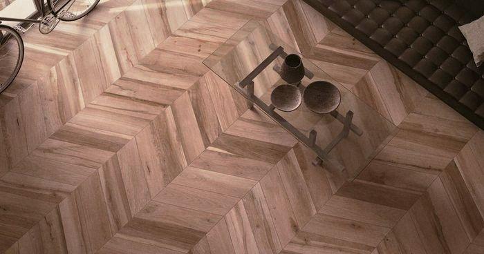 керамическая плитка напольная под дерево
