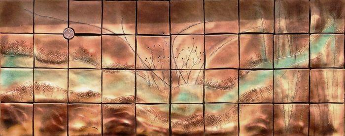 керамическая плитка панно