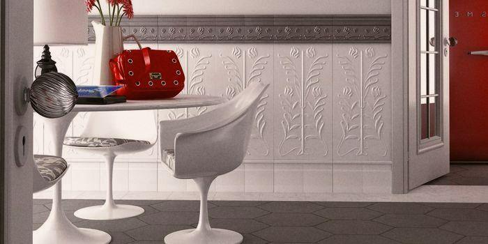 керамическая плитка рельефная