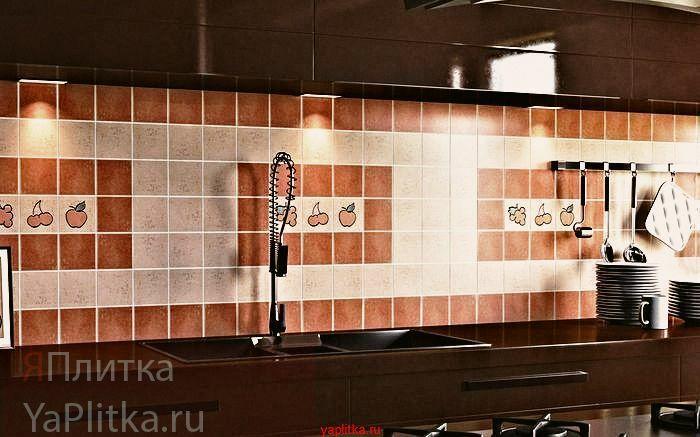 керамическая плитка 10х10 для кухни