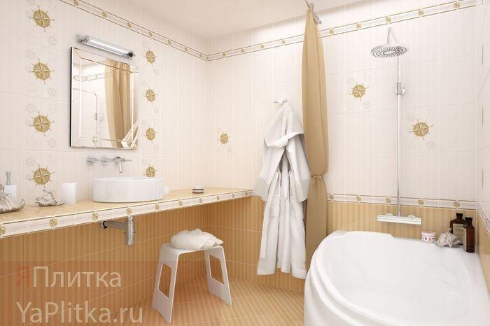 керамическая плитка для ванной 50х25