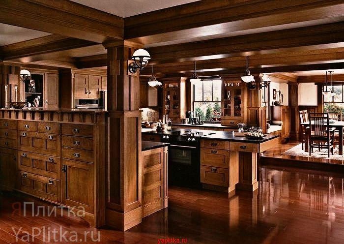 керамическая плитка кантри для кухни
