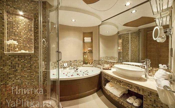 мелкая керамическая плитка для ванной