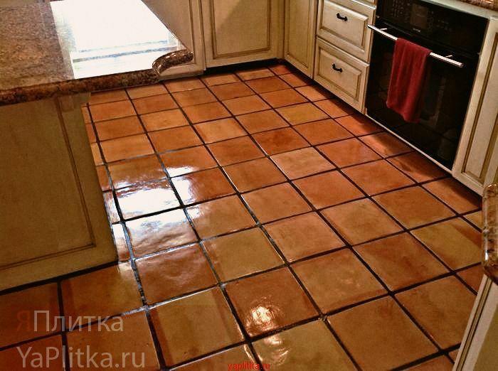 облицовка кухни керамической плиткой