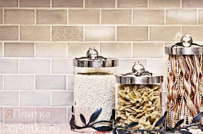 отделка кухни плиткой керамической