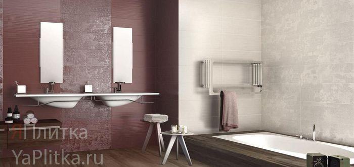 отделка ванной керамической плиткой