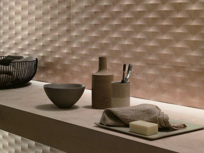 плитка рельефная глазурованная керамическая