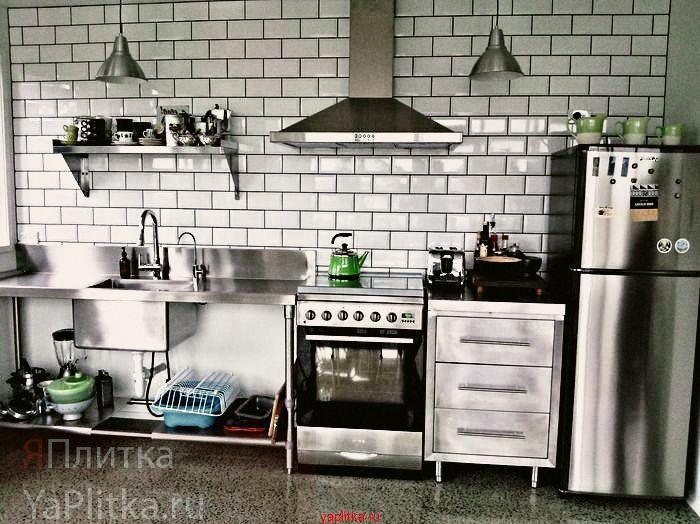 плитка керамическая для стен кухни