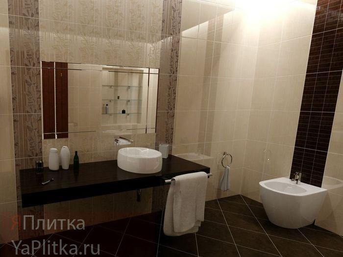 плитка керамическая для ванной 20х25