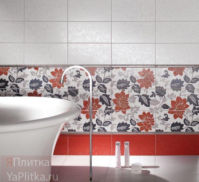 плитка керамическая в ванную комнату