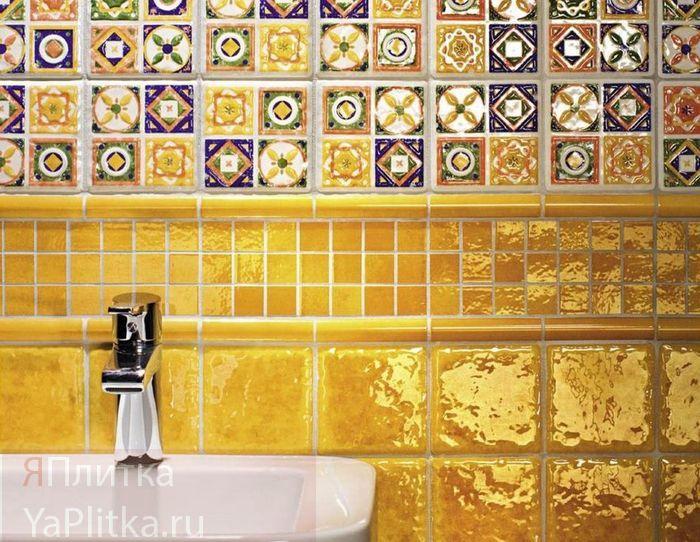 виды керамической плитки для ванной
