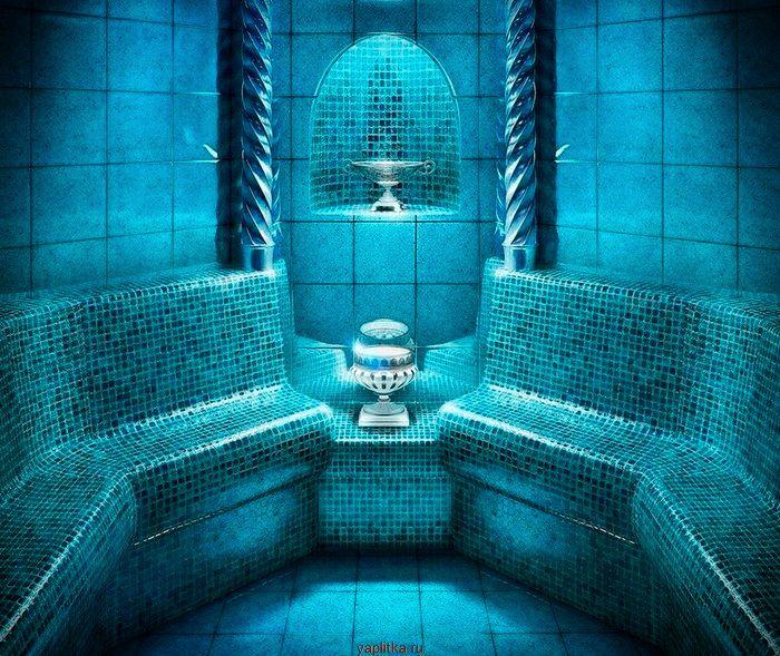 бирюзовая керамическая плитка для ванной
