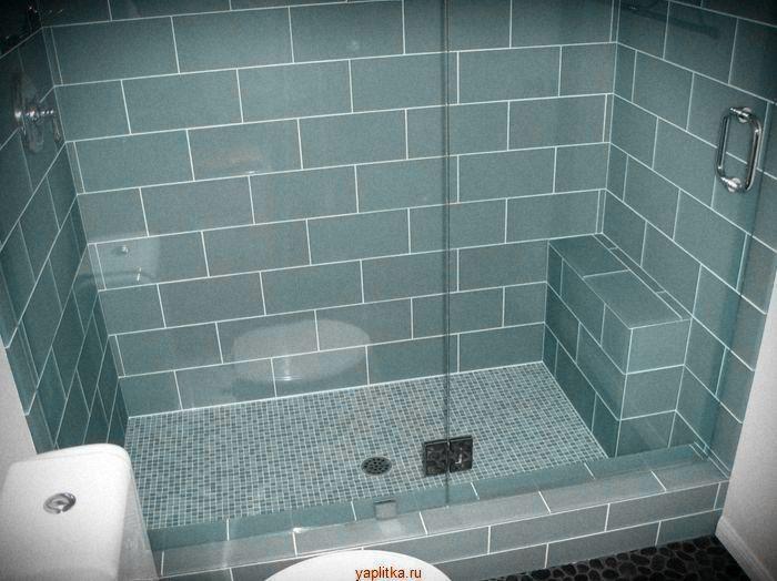 салатовая керамическая плитка для ванной