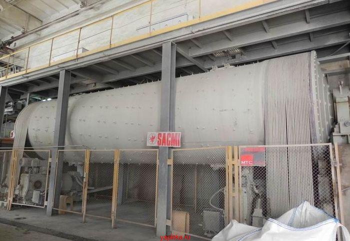 линия по производству керамической плитки
