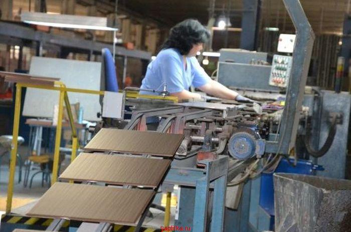 предприятие по производству керамической плитки