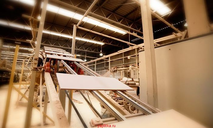 технологическая схема производства керамической плитки