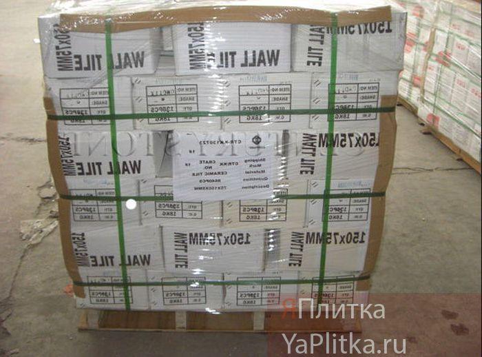 количество керамической плитки в упаковке