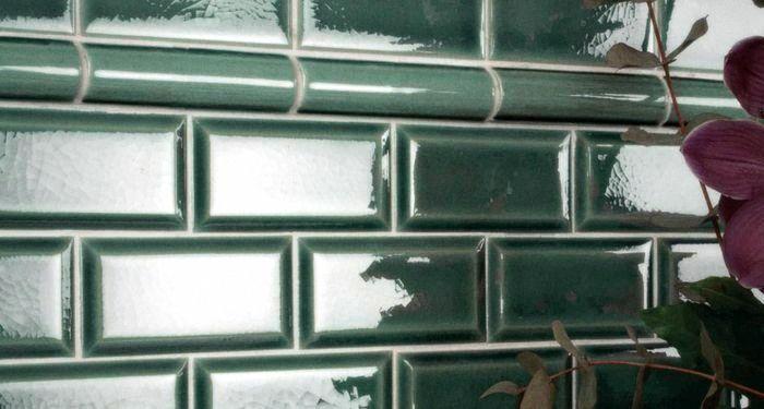 керамическая плитка настенная глазурованная