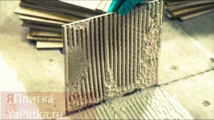 толщина плитки керамической напольной