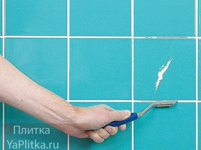 ремонт керамической плитки на полу