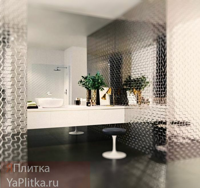 панно из керамической плитки для ванной фото