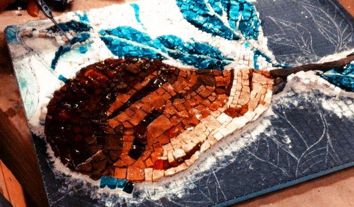 укладка мозаики своими руками