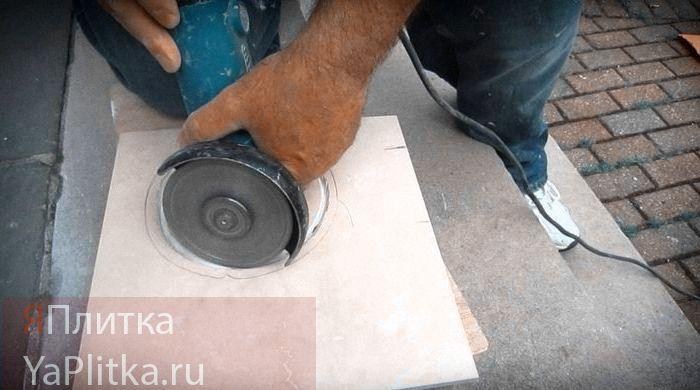 как обрезать керамическую плитку