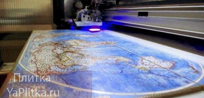 печать на керамической плитке фото