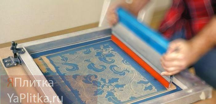 печать на керамической плитке оборудование