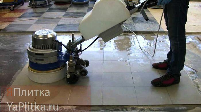 полировка мрамора и гранита