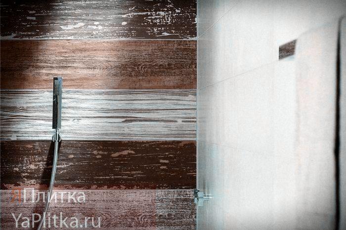 керамическая плитка на деревянный пол в ванной