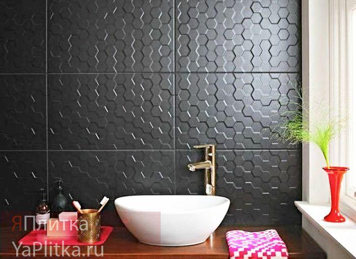 матовая керамическая плитка для ванной