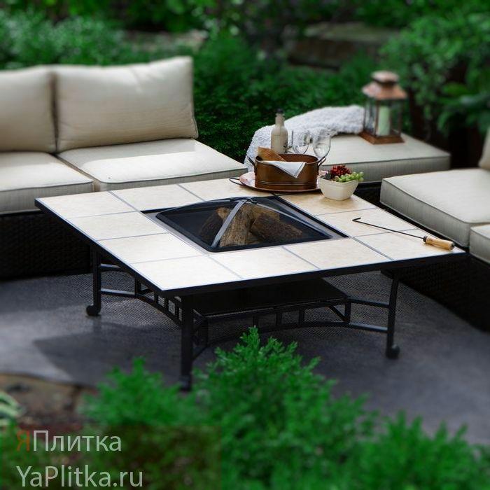 стол с керамической плиткой отзывы