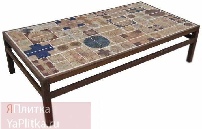 стол с плиткой керамической