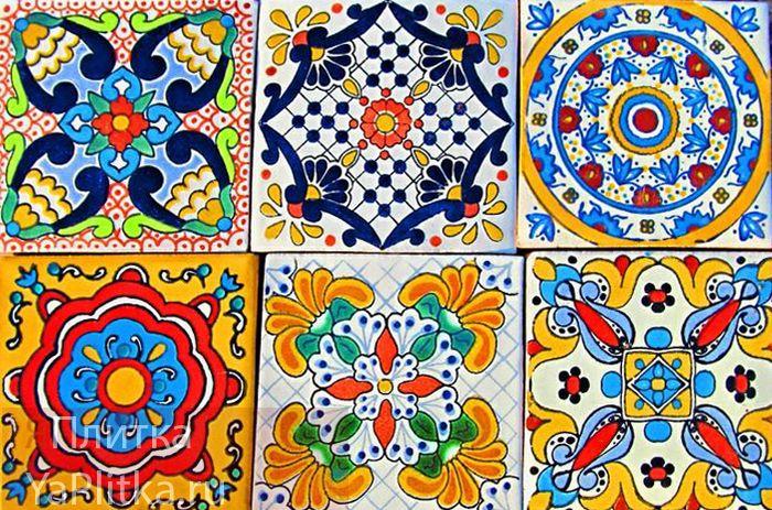керамическая плитка майолика