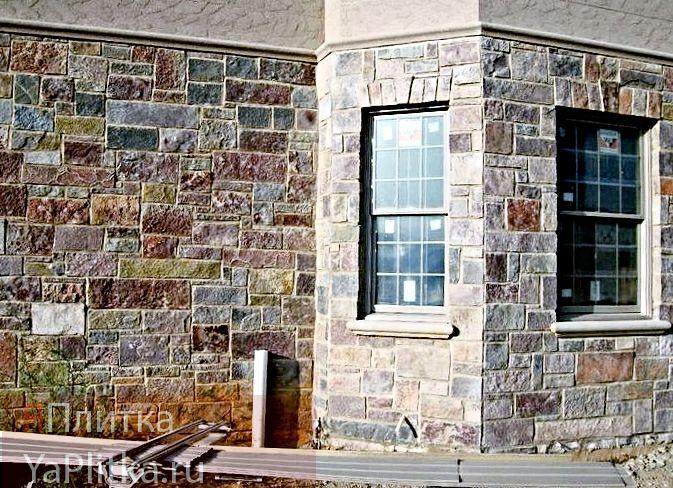 керамическая плитка для наружной облицовки дома