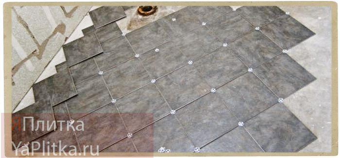 толщина керамической плитки с клеем