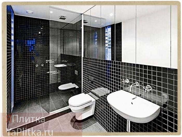 интерьер отделка ванной комнаты