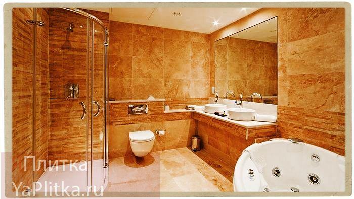 ванной комнаты отделка