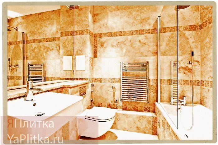 варианты отделки ванной комнаты